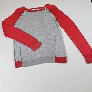 Anthropologie Sparrow Sweatshirt Pink & Gray M.